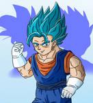Dragon Ball Super- Vegito Blue (SPEEDPAINT ALSO)
