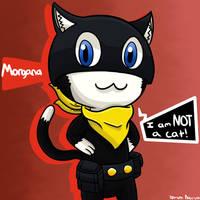 Persona 5- Phantom Thief Morgana by 4bitscomic