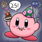 Happy 25th Anniversary Kirby!