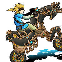 Legend of Zelda DLC: Breath Of The Cycle by 4bitscomic