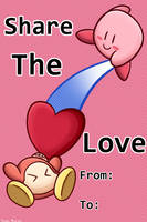 Share the love with Kirby by 4bitscomic