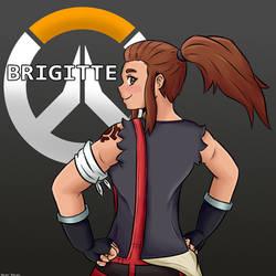 Overwatch Brigitte by 4bitscomic