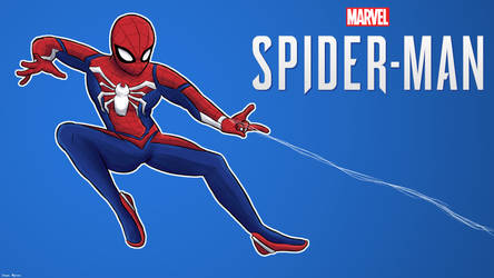 Marvel Spider-Man PS4 wallpaper by 4bitscomic