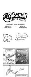 Pokemon Triple Finish: Chapter 1 (NEW SERIES) by 4bitscomic