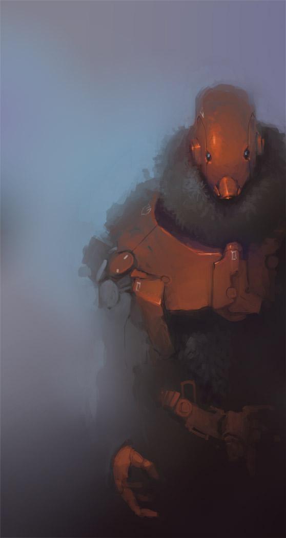 Cyborg something 002 by JaM-one