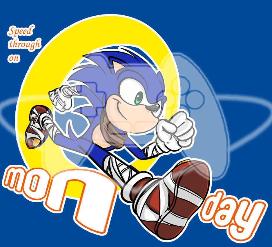 Weekday-shirts: SONIC by CP-BaM-BaM