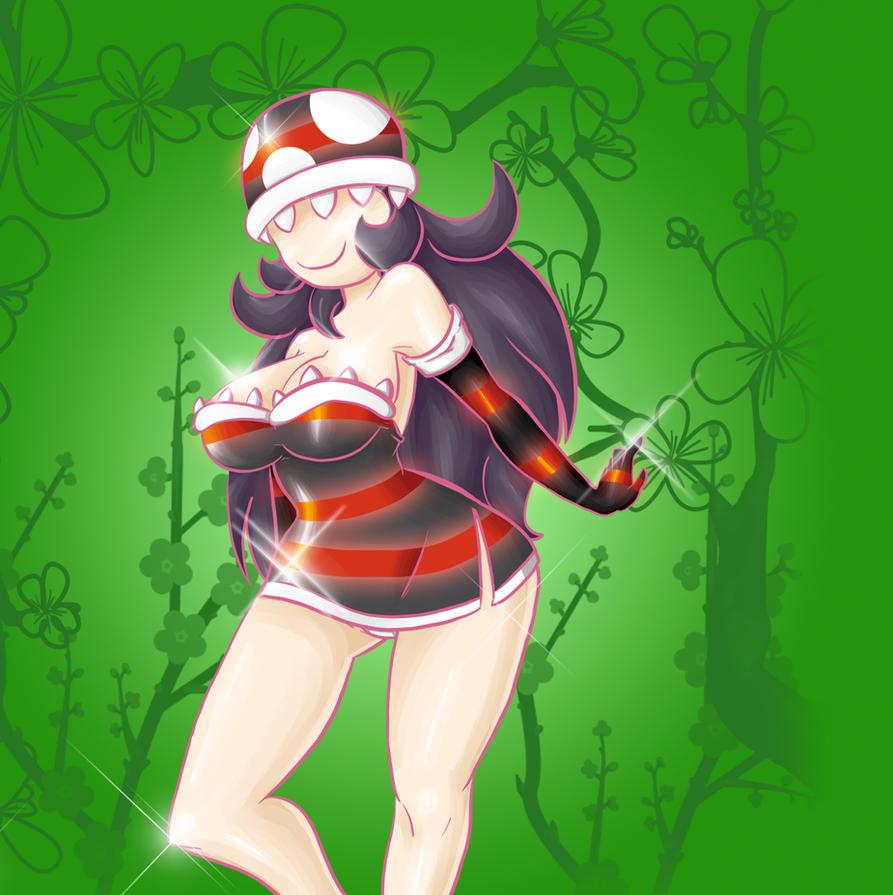 Vicious Piranha Plant Girl! by CP-BaM-BaM on DeviantArt