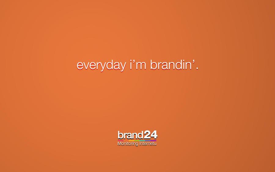 Brand24 fanart wallpaper #02 by michalkosecki