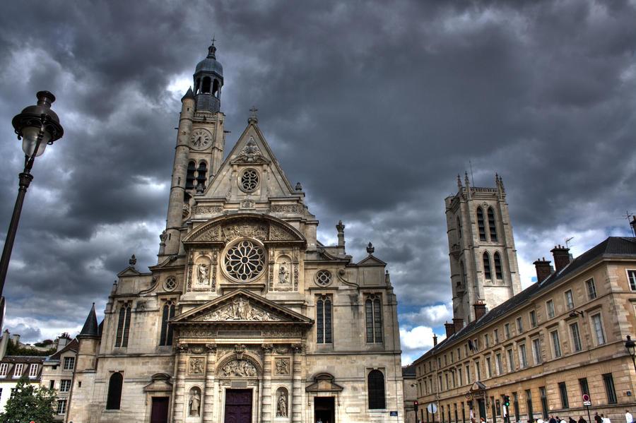 Saint Etienne du Mont - Paris