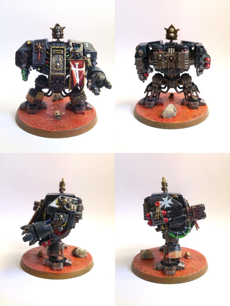 Black Templar Dreadnought I by JLMelladoValle
