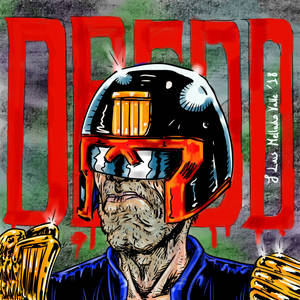 Judge Dredd portrait fan art