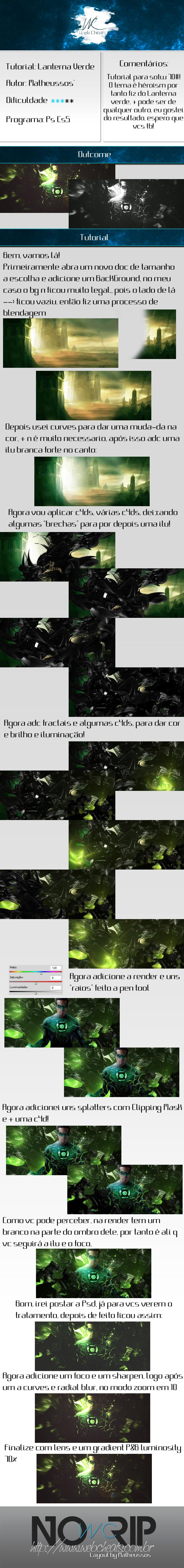 Tutorial Sign GFX Lanterna Verde TAG Lanterna_verde_tutorial_by_matheussos-d426c2q