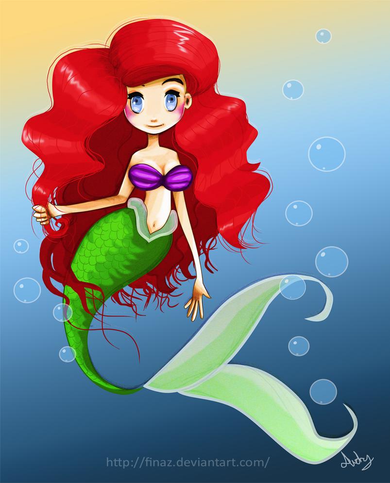 Ariel The Little Mermaid by Finaz