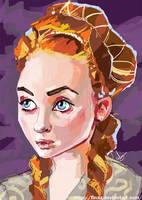 Sansa Stark by FinaSusu
