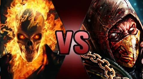 Death Battle: Ghost Rider vs. Scorpion by Dimension-Dino ...