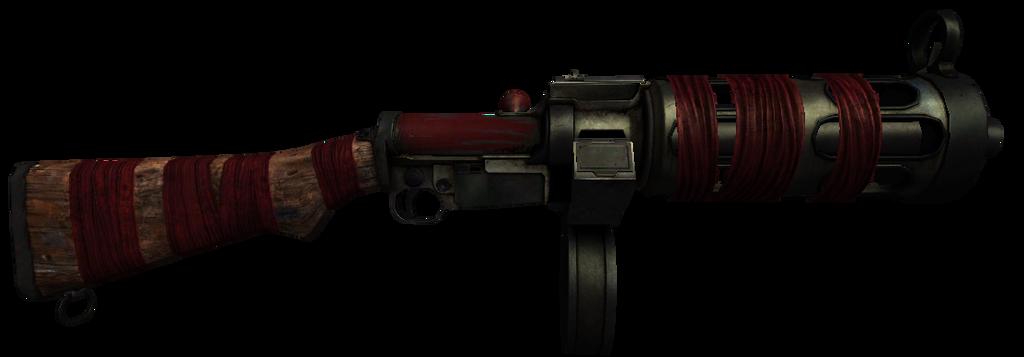 bioshock infinite machine gun