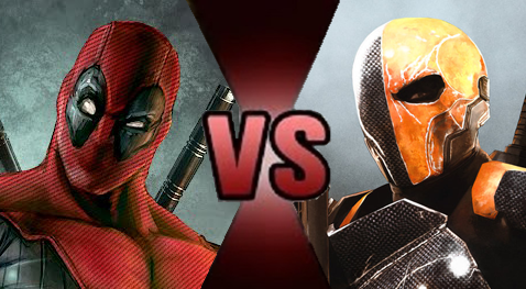 Deadpool vs. Deathstroke preview by Dimension-Dino