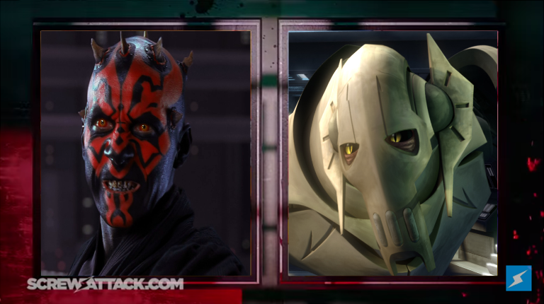 Maul vs. Grievous Set by Dimension-Dino
