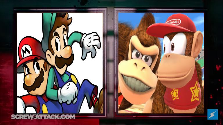 ce94f388eb Death Battle  Luigi vs. Diddy Kong by Dimension-Dino on DeviantArt