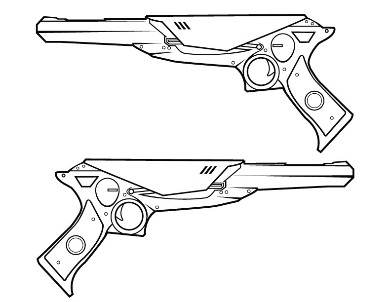 how to draw call of duty guns