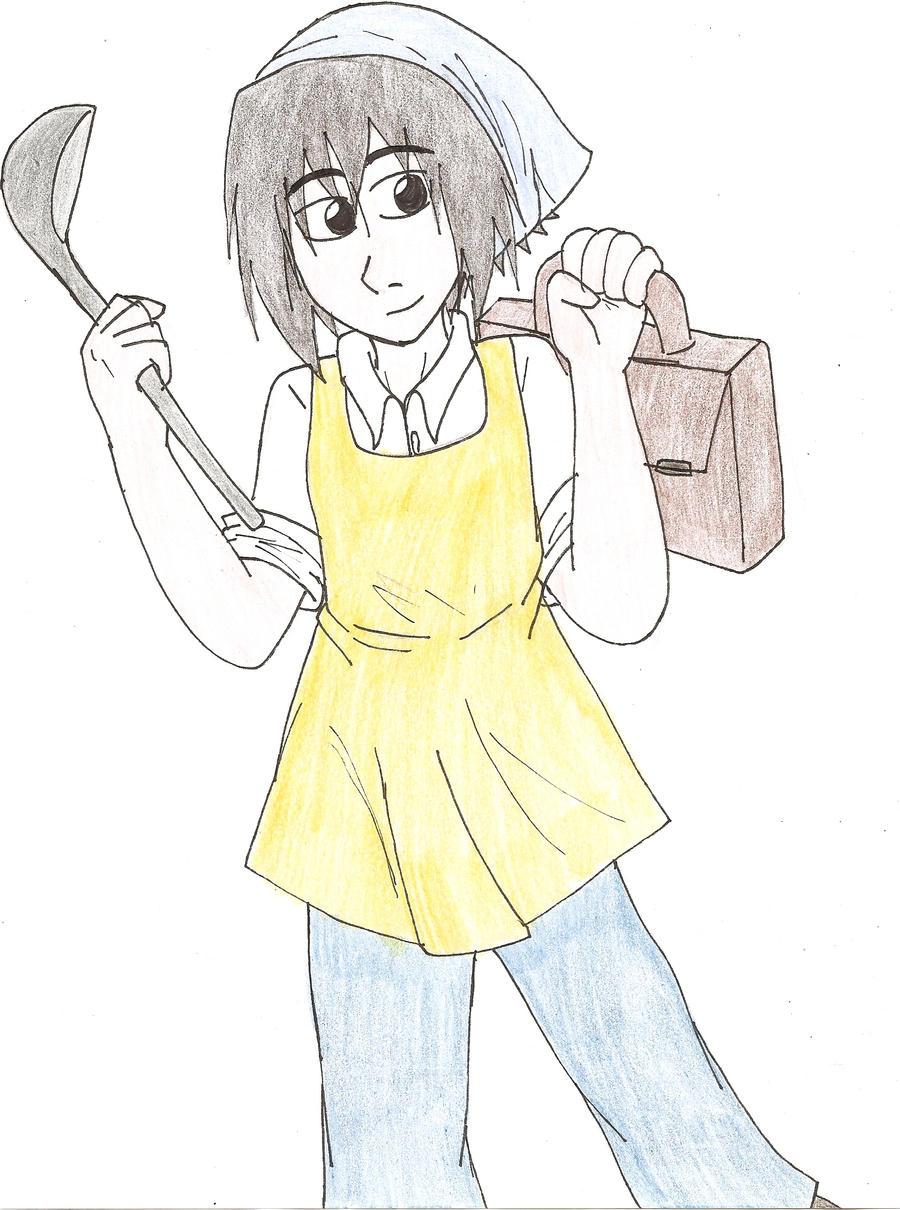sasuke uchiha estudiante by stephaniekawai