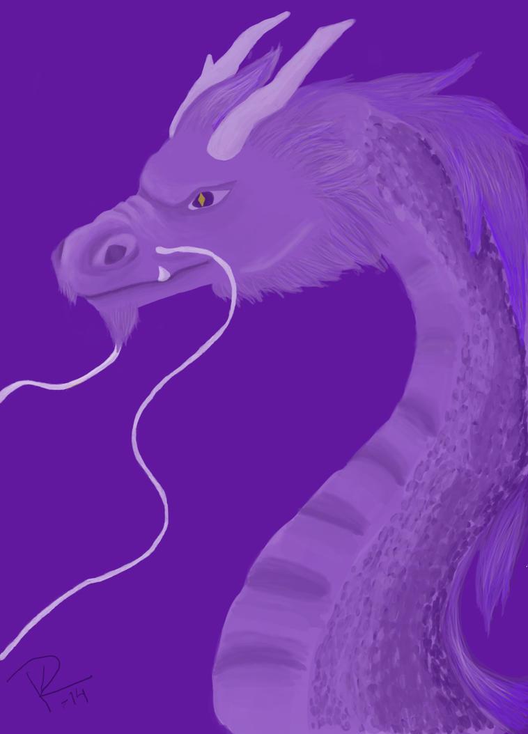 Birthday dragon by ffreyan