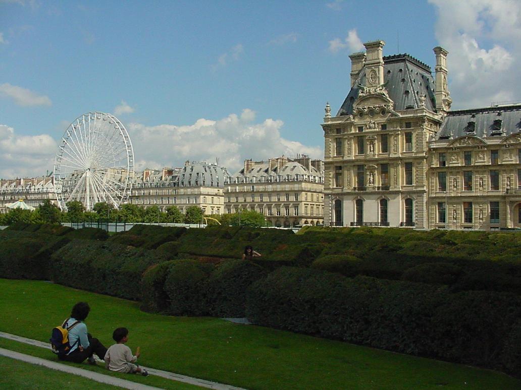 Au jardin des tuileries by green olived yoshi on deviantart for Jardin des tuileries
