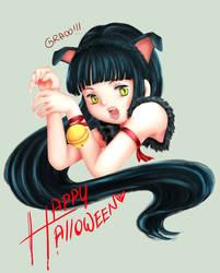 Happy Halloween by ArgentYue