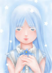 Forget me not by ArgentYue