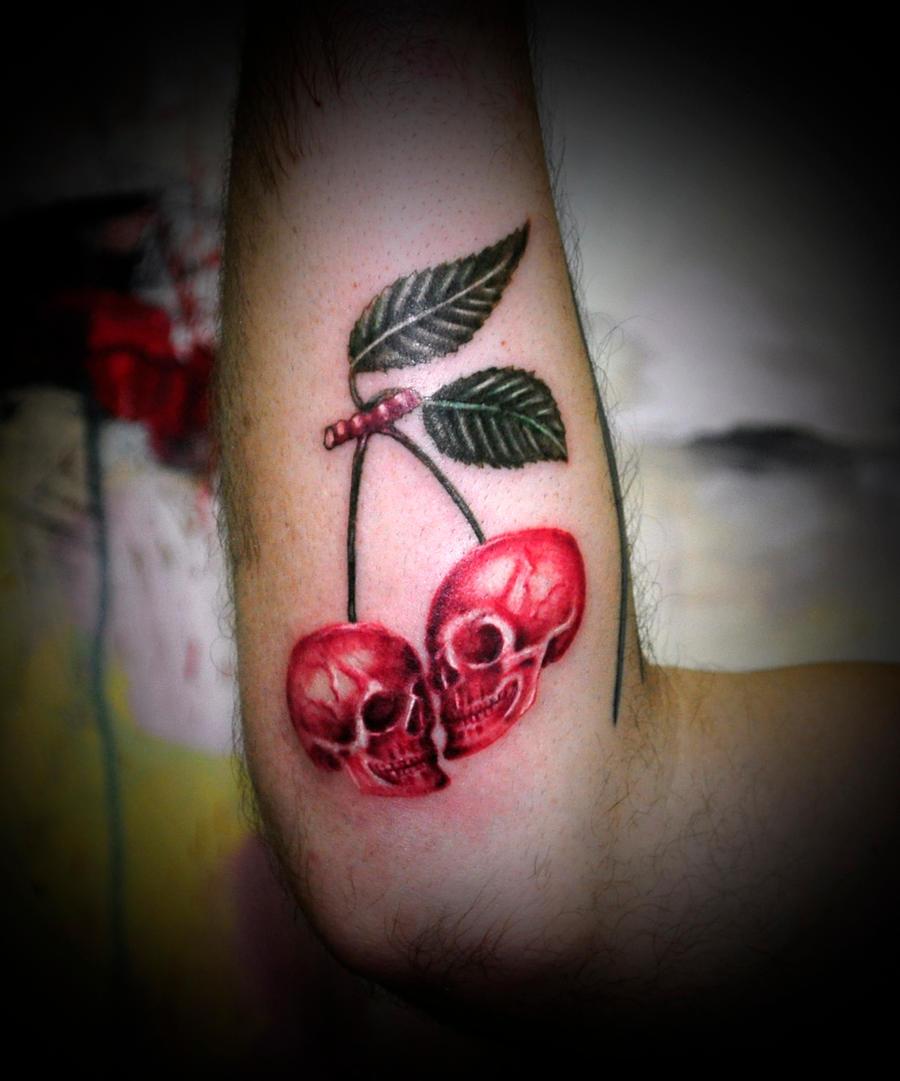 skull cherry by koraykaragozler