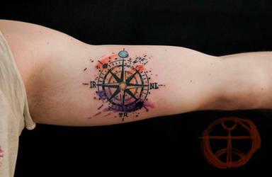 compass by koraykaragozler