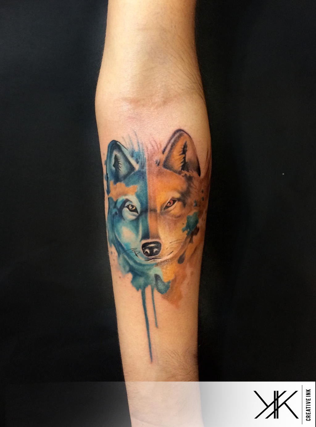 wolf by koraykaragozler