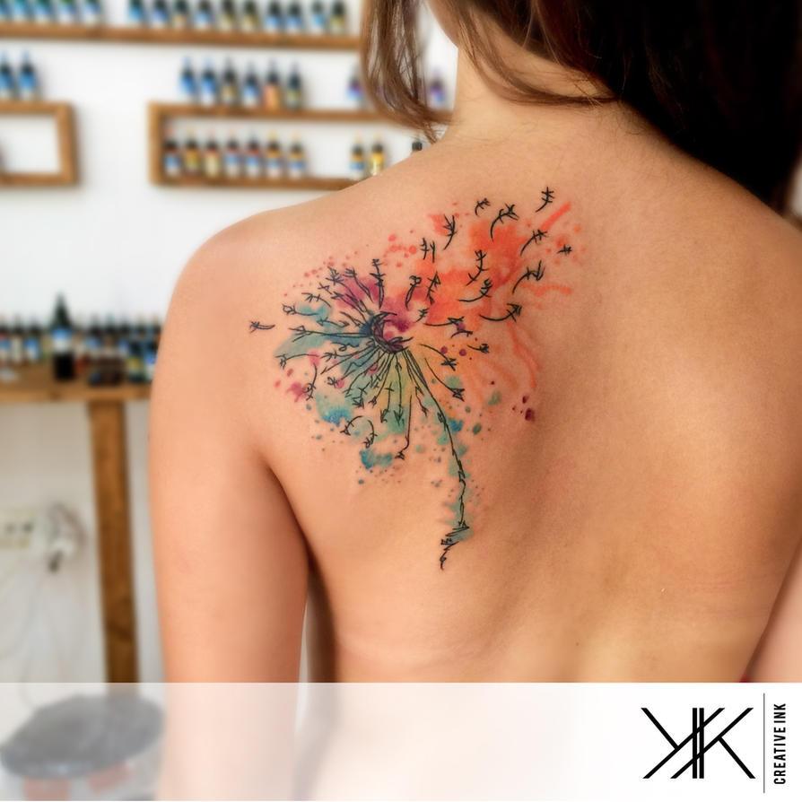 Abstract Dandelion by koraykaragozler
