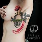 Skull n Flower