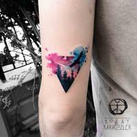Triangle Forest by koraykaragozler