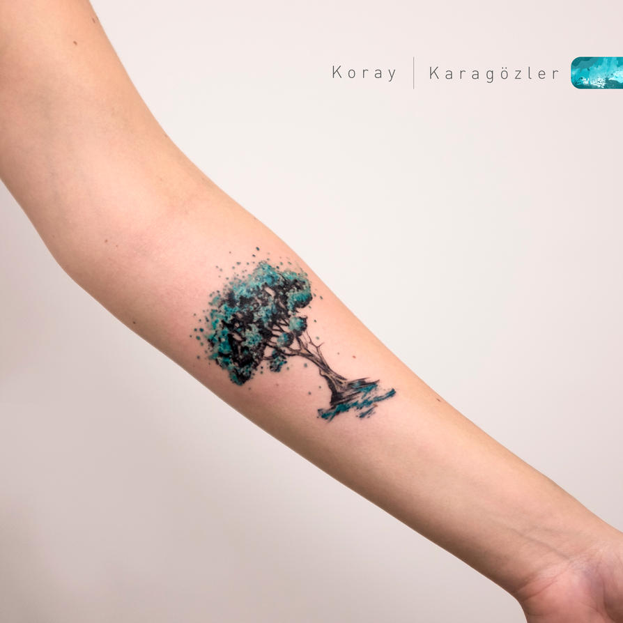 Tree tato images for tatouage tree tato for watercolor tree tattookoraykaragozler on deviantart thecheapjerseys Images