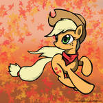 Applejack - Running the Leaves (Nostalgia Run)