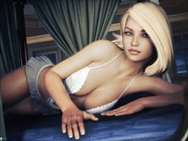 Modern Pin-Up: At Home 7 by LaMuserie