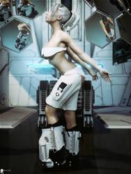 SF Futurist Girl 21