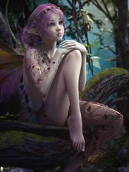 Fairie 7 by LaMuserie