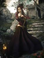 Druidesse 8 by LaMuserie