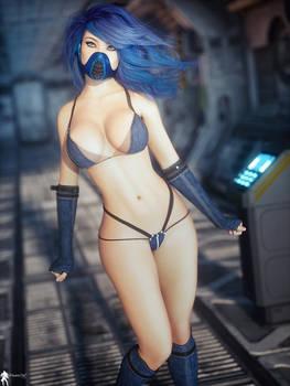 Kawai In Blue
