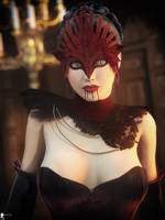 Night in Blood Velvet 8 by LaMuserie