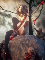 Dark Fairy 6 by LaMuserie