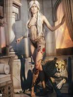 Femme d'Ailleurs 34 by LaMuserie
