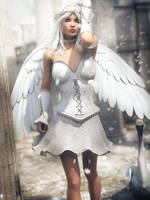 Angel Spirit 13 by LaMuserie