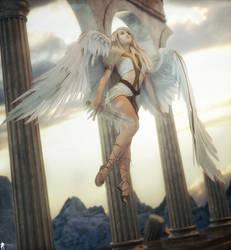 Angel Spirit 15 by LaMuserie