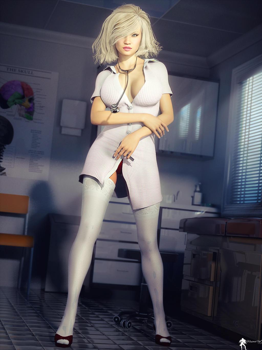 Nurse 1 by LaMuserie