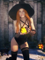 Witch of the Day 27 by LaMuserie