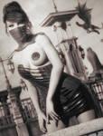 Version Monochrome: Femme d'Ailleurs 1